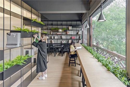 荣宝斋咖啡书屋_美国室内设计中文网图片