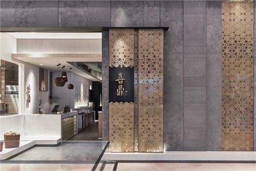 喜鼎饺子中式餐厅空间设计/xi ding - dumpling restaurant