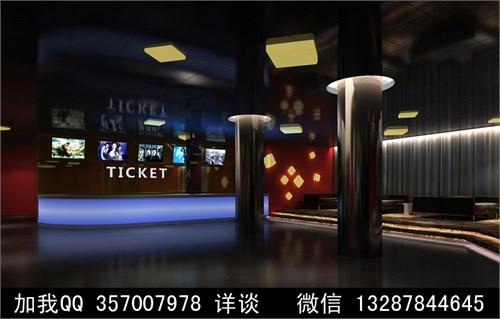 设计师俱乐部 69 案例  电影院 售票大厅 电影院展示厅 电影院播