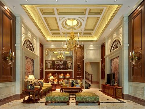 璧山秀湖鹭岛别墅装修设计案例丨天古装饰高端设计