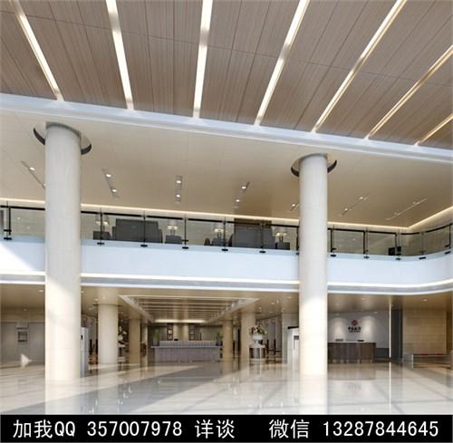 银行设计案例效果图2_美国室内设计中文网