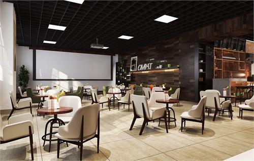 鄂尔多斯创业园艺术沙龙设计_美国室内设计中文网图片