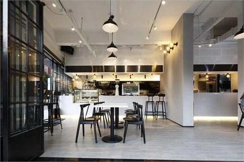 味匠咖啡厅_美国室内设计中文网
