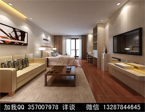 单身公寓 欧式 单人房 标准房 低调奢华 精装修 样板房