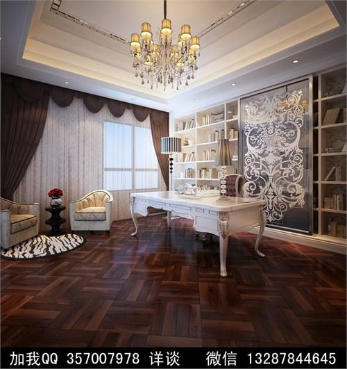 大户型欧式风格家装设计案例效果图