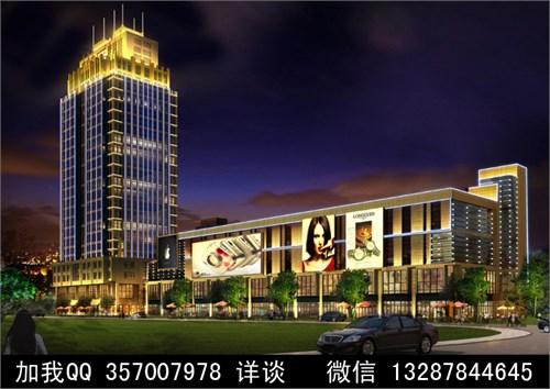 建筑亮化设计案例效果图_美国室内设计中文网