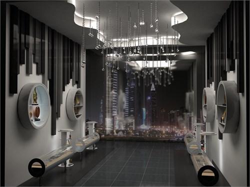 参赛——展示空间设计图片