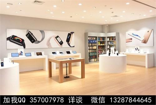 手机专卖店设计案例效果图
