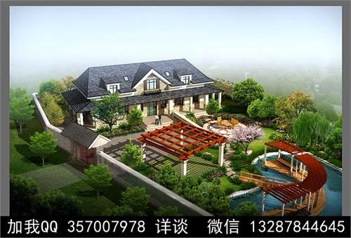 别墅院子设计案例效果图