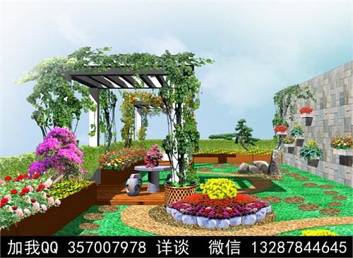 景观效果图 园林效果图 庭院效果图 景观设计 屋顶花园 内廷效果图