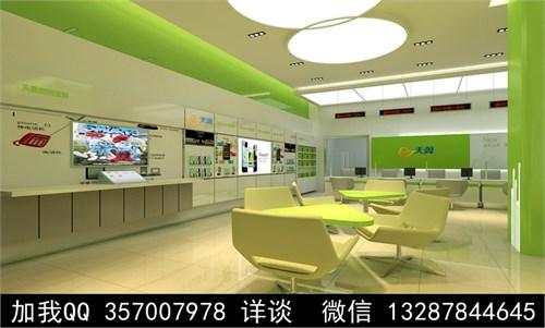 手机店设计案例效果图_美国室内设计中文网