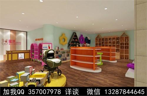 母婴店设计案例效果图_美国室内设计中文网