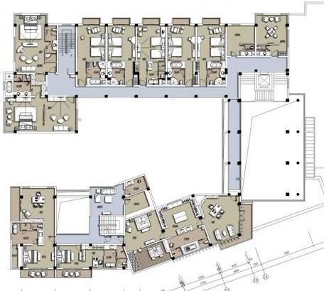 3000平米別墅戶型圖