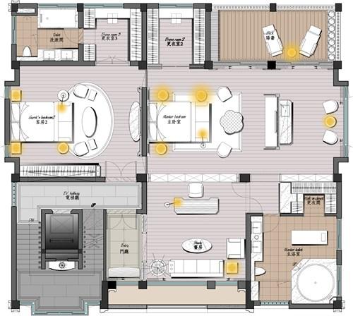 【碧桂园花园里】z-house--自建别墅设计案