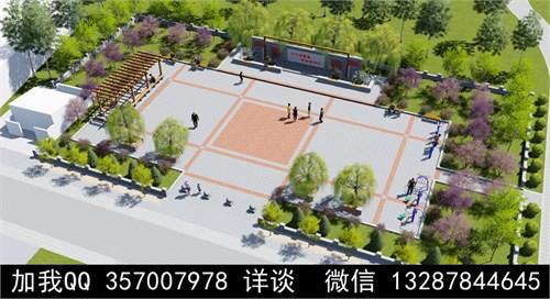 广场设计案例效果图