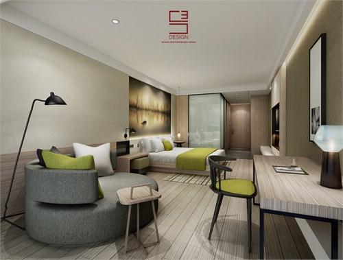 上海亚朵酒店_美国室内设计中文网