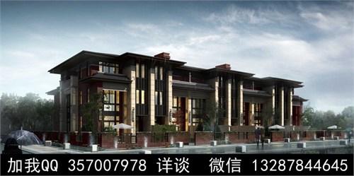 建筑外观设计案例效果图_美国室内设计中文网