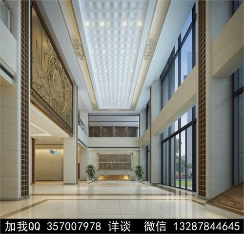 医院大厅设计案例效果图