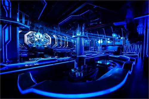 陈武设计的酒吧平面图