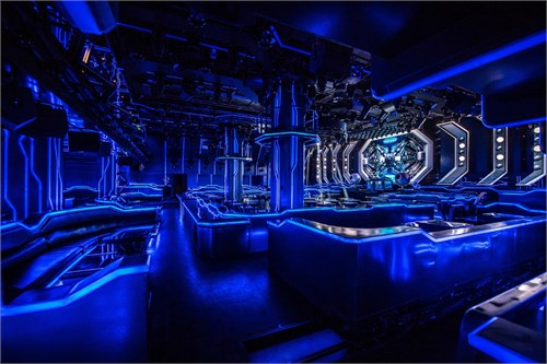 Hepburn Club 广州赫本酒吧 美国室内设计中文网