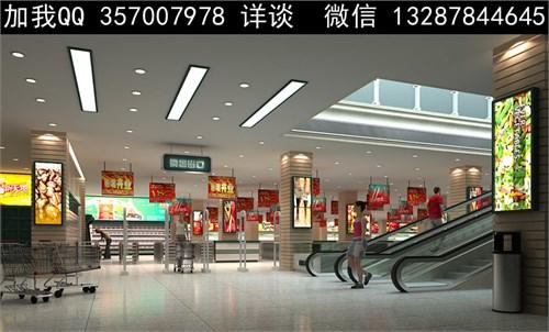 商场设计案例效果图图片