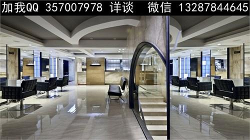 发廊设计案例效果图