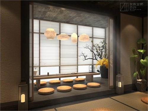阳台小型茶室设计