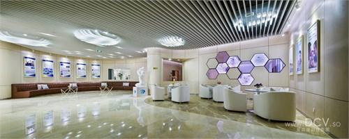 西安现代简约展厅设计-九州医学中心干细胞库(科技六路九州生物医药)