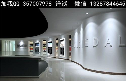陶瓷卫浴展厅设计案例效果图