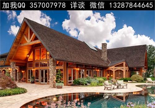 首页 69  设计师俱乐部 69 案例  木屋 木别墅 景观 绿化 建筑 木