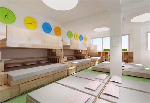 安康环保幼儿园装修设计图图片