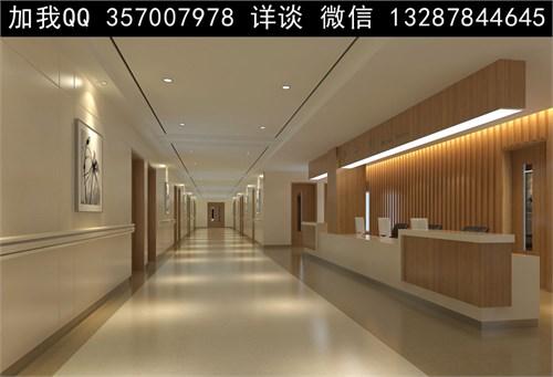 医院护士站设计案例效果图_美国室内设计中文网