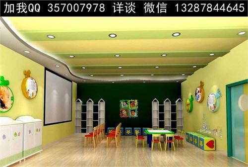 儿童活动室设计案例效果图_美国室内设计中文网