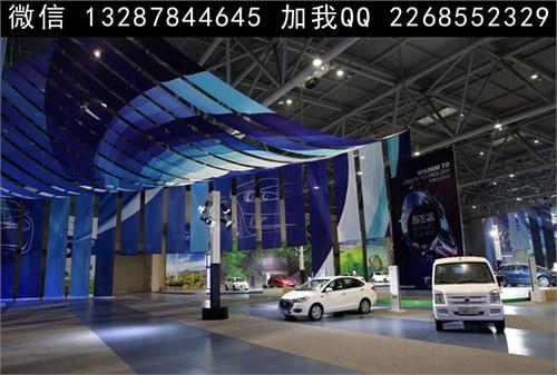 车展展厅展台设计案例效果图图片