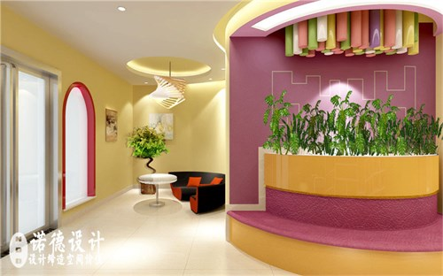 创作空间儿童画室装修效果图 儿童画室设计图 郑州儿童画室装修公司