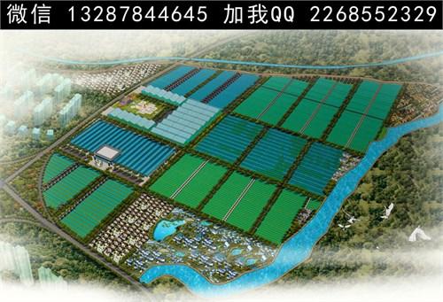 蔬菜种植园 农业种植园 农业园鸟瞰图 农业园景观图 高新农业园图