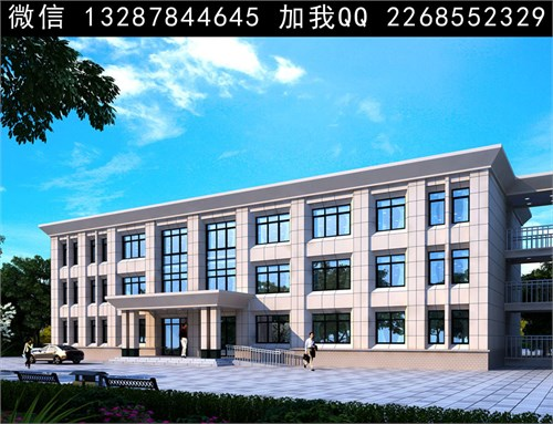 效果图 厂区办公楼 公司大楼 商业楼 三层办公楼四层办公楼 欧式办公