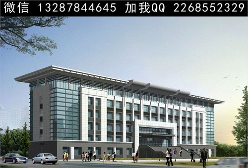 厂区办公楼 公司大楼 商业楼 三层办公楼四层办公楼 欧式办公楼