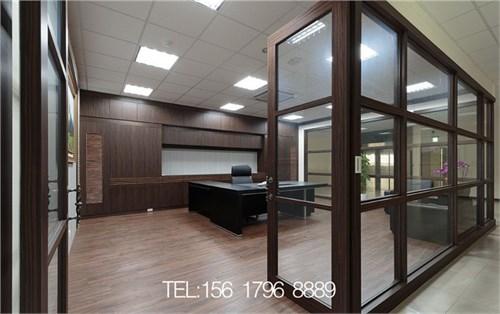 郑州厂房办公室装修设计案例-金博大装饰