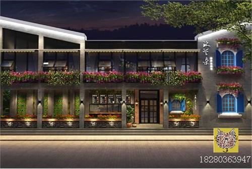 汉中主题餐厅装修设计 汉中餐厅设计公司
