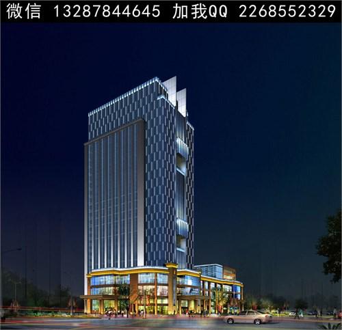 酒店设计 酒店建筑 建筑设计 现代建筑  建筑外立面 现代酒店