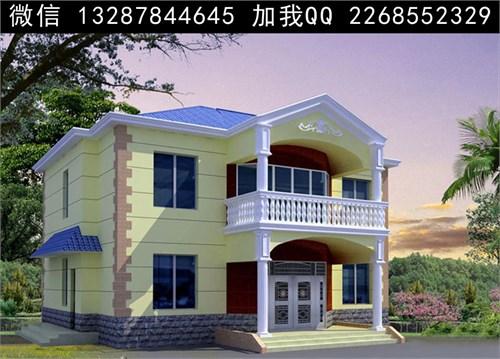 别墅图片 两层半别墅 三层别墅设计 别墅效果图 建房设计图 农村别墅