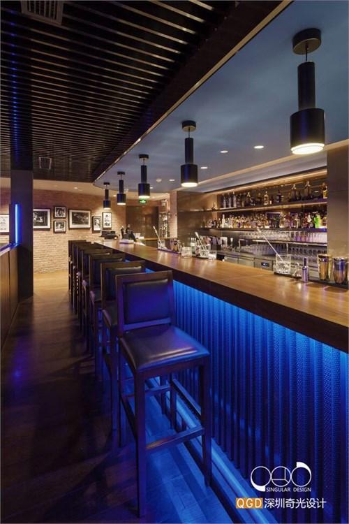 郑州mj音乐主题餐厅设计-奇光专业主题餐厅设计公司